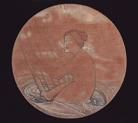 《秋》1908年、石橋財団石橋美術館