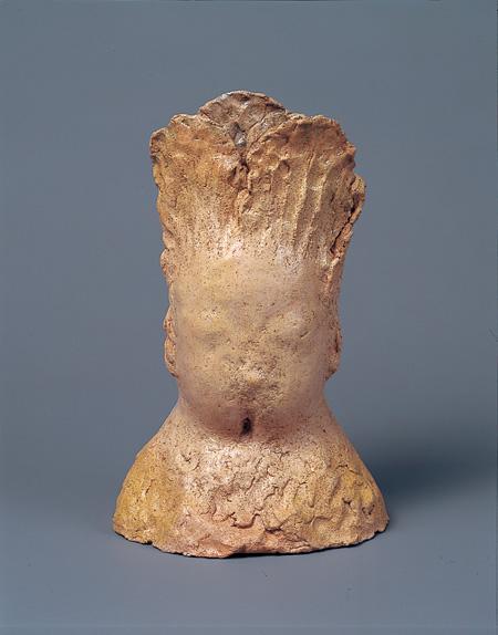 イケムラレイコ《Cabagged head》1994年、国立国際美術館