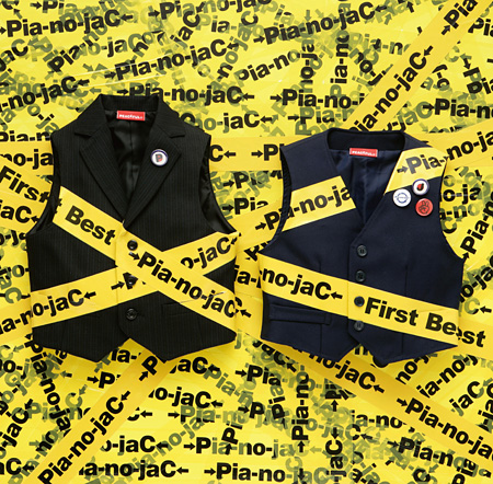→Pia-no-jaC←『First Best』ジャケット