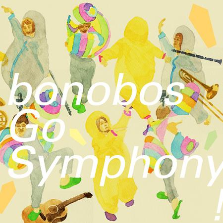 bonobos『Go Symphony!』ジャケット