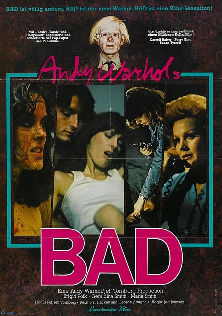 『アンディー・ウォーホルのBAD』(監督:ジェッド・ジョンソン)