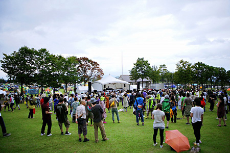 『TAICOCLUB camps'10』の様子