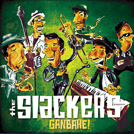 THE SLACKERS『GANBARE』ジャケット