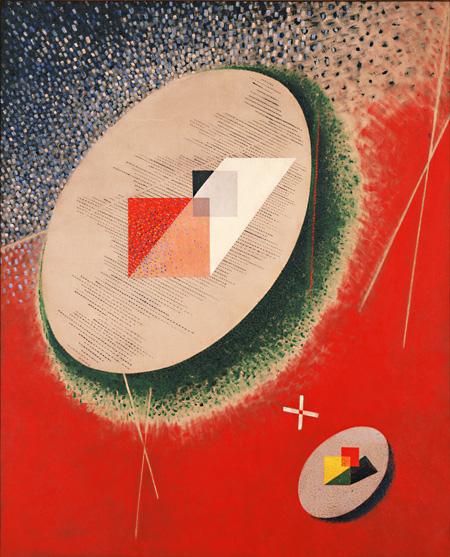 《スペース・モデュレータ CH 1》1943年 DIC川村記念美術館 ©2011 Hattula Moholy-Nagy