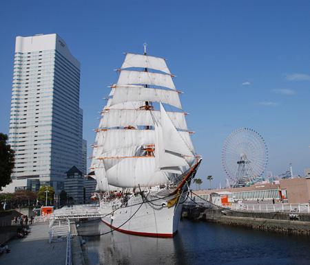 海のバレエ1「Nippon Maru」