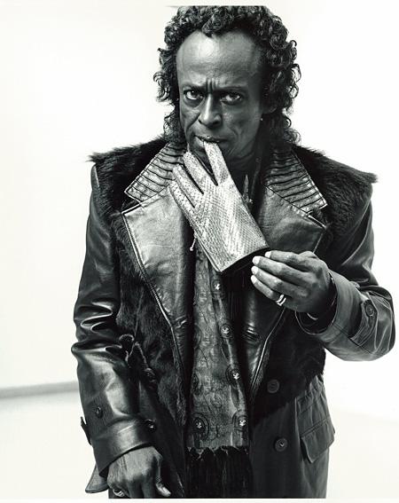 Lot No.6「Miles Davis」広川泰士 スタート価格:60,000円 ※オークション用作品のため、販売価格が3万円とは異なります