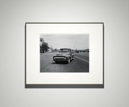 Lot No.8「Route 66 On the Road, San Fidel NM 1995」三好耕三 スタート価格 66,000円 ※オークション用作品のため、販売価格が3万円とは異なります