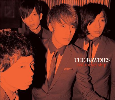 THE BAWDIES『RED ROCKET SHIP』日本武道館 公演記念盤ジャケット