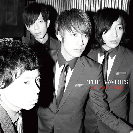 THE BAWDIES『RED ROCKET SHIP』通常盤ジャケット