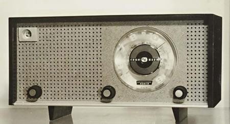 佐藤無線株式会社≪クライスラーラジオキャビキットH-20≫ 1955年 デザイン:秋岡芳夫、KAK