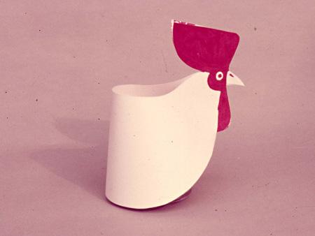 子供のための紙工作 1969,70年 デザイン・制作:秋岡芳夫