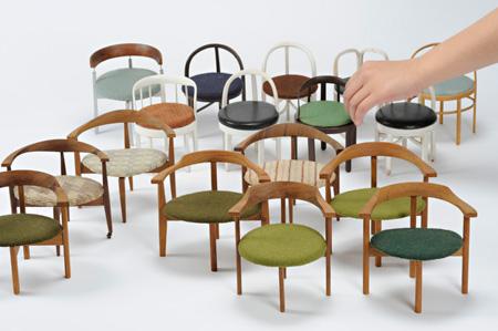 男の椅子のための模型 デザイン・制作:秋岡芳夫
