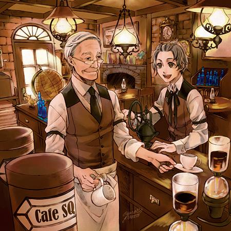 V.A.『Cafe SQ』ジャケット