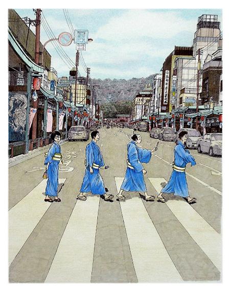 『鴨川ホルモー』表紙装画