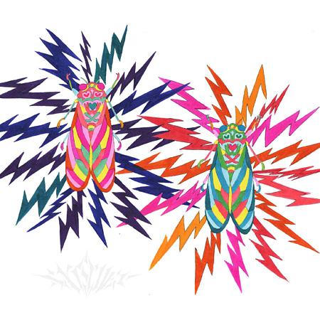 "NATSUMEN""Cicadabrot ver.0.1.3(Rough Mix)""ジャケット"