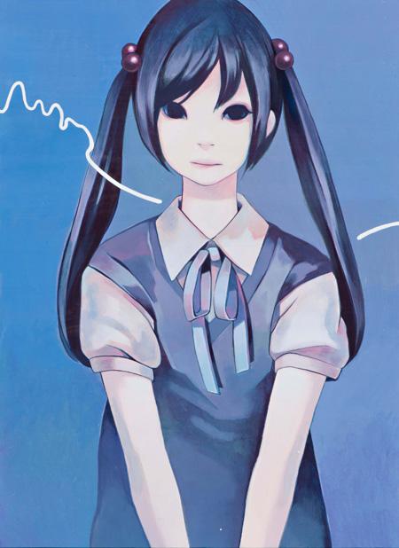 『プログラム』 2011年 45.5×33.3cm ケント紙にアクリル neutron tokyo 撮影:木田光重