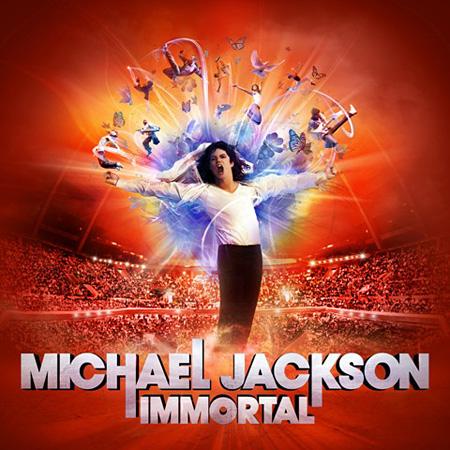 Michael Jackson『イモータル』ジャケット