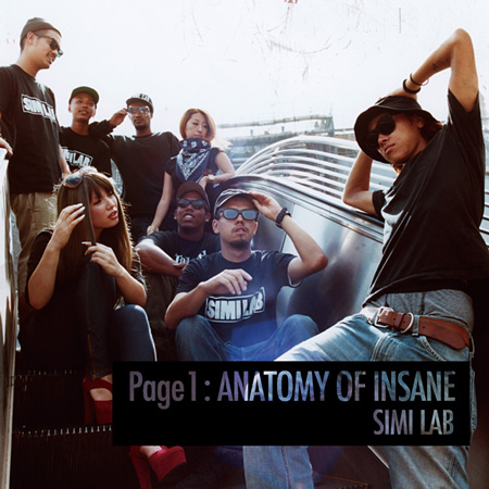 SIMI LAB『Page 1 : ANATOMY OF INSANE』ジャケット