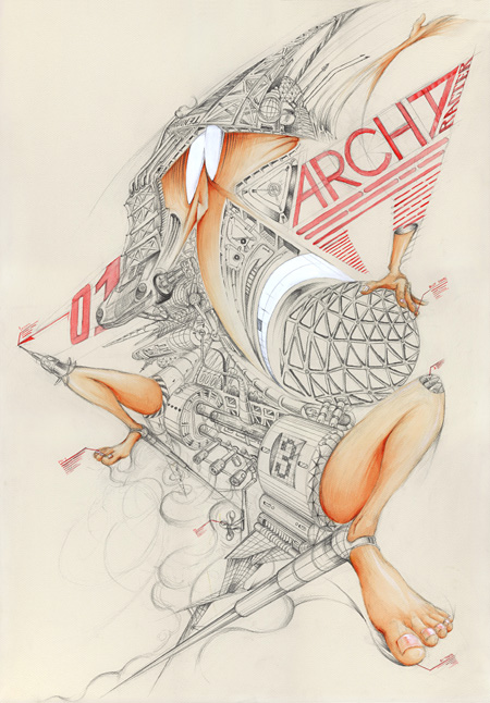 Portfolio Viewing 2011 Kazuki Yajima [archaracter]