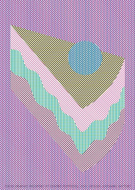 Tokyo Graphic Poster Exhibition Kazunari Hattori [ケーキ]