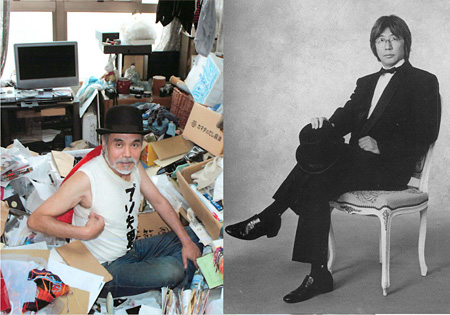 秋山祐徳太子(左)Courtesy of Yutokutaishi Akiyama しりあがり寿(右)©Shiriagari Kotobuki