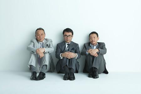 左から:西村雅彦、三谷幸喜、近藤芳正