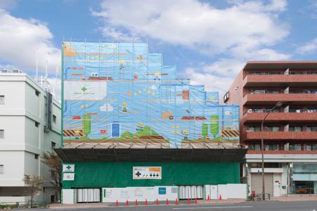 東京都大田区石川町2丁目[Gridie](2011年12月下旬まで掲出中)