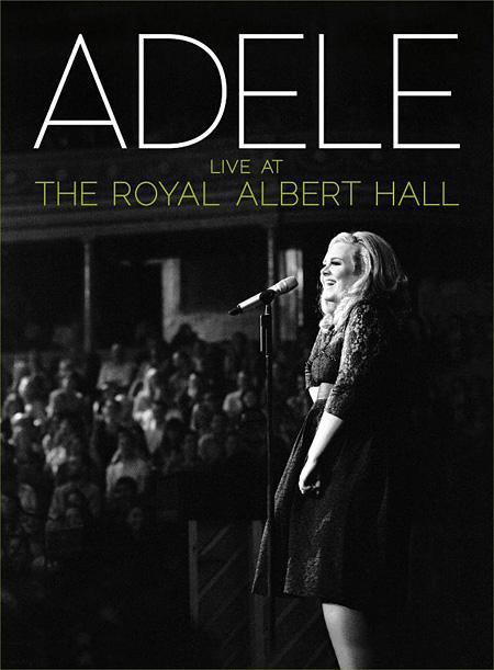 Adele『ライヴ・アット・ザ・ロイヤル・アルバート・ホール』国内盤ジャケット