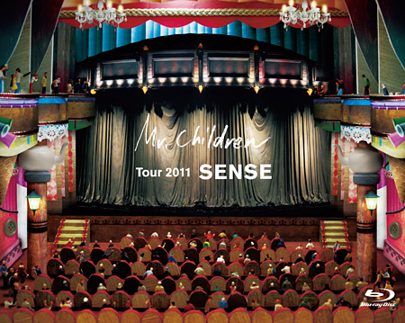 "Mr.Children『Mr.Children TOUR 2011 ""SENSE""』(2DVD)ジャケット"