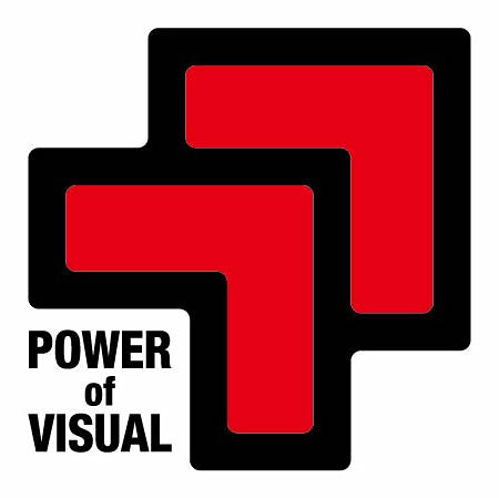 『POWER of VISUAL』ロゴ