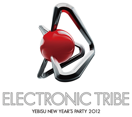 『ELECTRONIC TRIBE YEBISU NEW YEAR'S PARTY 2012』ロゴ