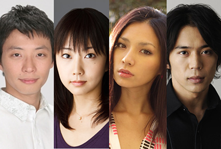 左から星野源、木南晴夏、野波麻帆、岡田義徳