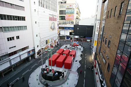 『歌舞伎町アートサイト』過去の会場風景