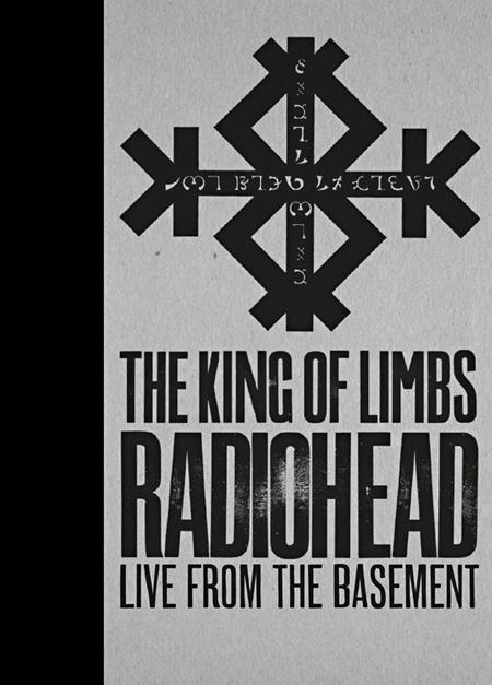 RADIOHEAD『ザ・キング・オブ・リムス/ライヴ・フロム・ザ・ベースメント』ジャケット