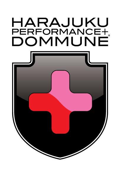 『HARAJUKU PERFORMANCE + DOMMUNE』ロゴ