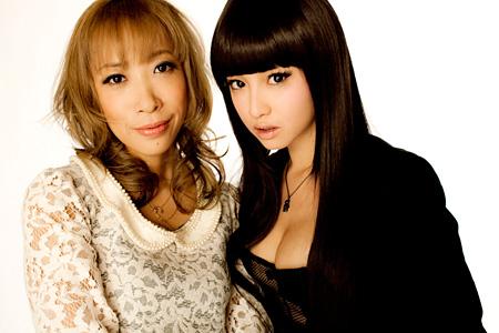 蜷川実花(左)と沢尻エリカ(右) ©2012映画『ヘルタースケルター』製作委員会