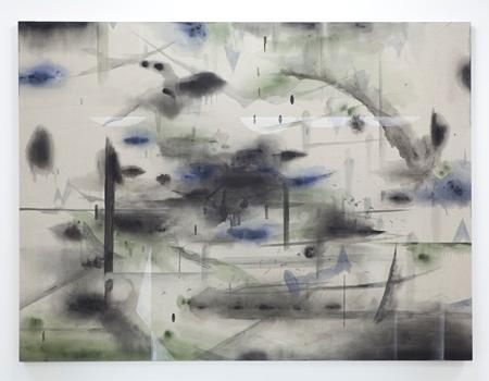 クサナギシンペイ『盟友』2011, 麻にアクリル, 194 x 259 cm copyright the artist, courtesy Taka Ishii Gallery