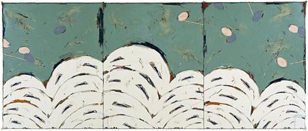 野田裕示《WORK 1422》 2001年 227.3×545.4 cm