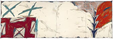 野田裕示《WORK 1316》 2000年 227.3×687.8 cm 新潟市美術館蔵