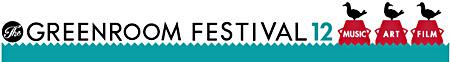 『GREENROOM FESTIVAL12』ロゴ