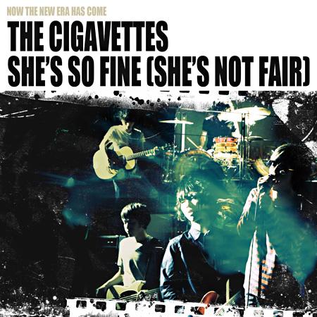 The Cigavettes『She's So Fine(She's Not Fair)』ジャケット