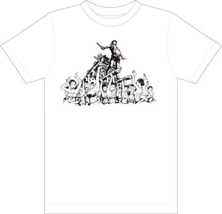 東北太平洋沖地震救援活動支援のチャリティーTシャツ