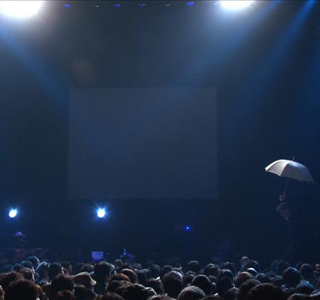 七尾旅人 飴屋法水『帰り道(2012.1.28 百人組手@赤坂BLITZ)』ジャケット