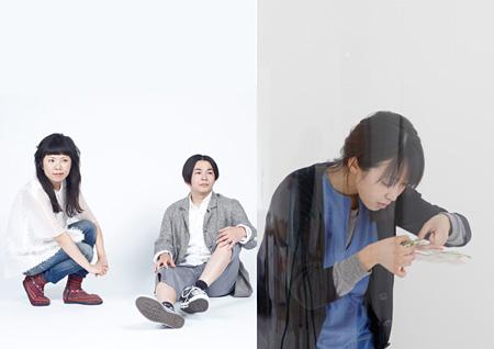 写真左:assistant、写真右:荒神明香