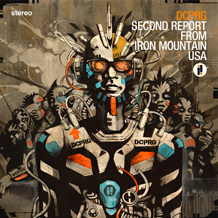 DCPRG『SECOND REPORT FROM IRON MOUNTAIN USA』ジャケット