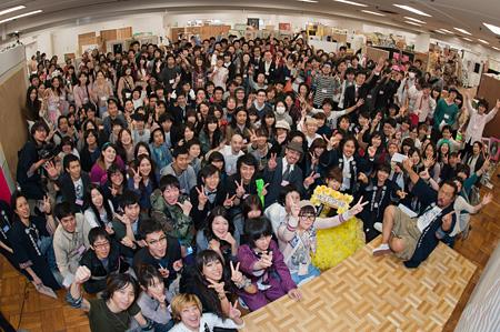 過去開催時の会場風景 photo by GEISAI Photography Team
