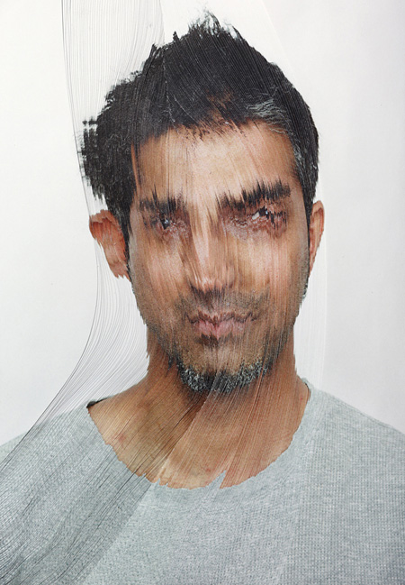 "Nerhol""Misunderstanding Focus"", 2012 ink jet print on paper sculpture : 210 x 297x30mm, photo : 1457 x 1030mm"