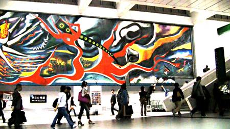 Chim↑Pom LEVEL 7 feat.「明日の神話」 2011 ©2011 Chim↑Pom Courtesy of Mujin-to Production, Tokyo