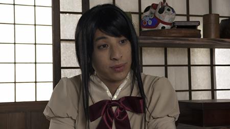 暁美ほむら役を演じる西村博之