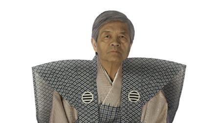 お奉行様役を演じる田原総一朗